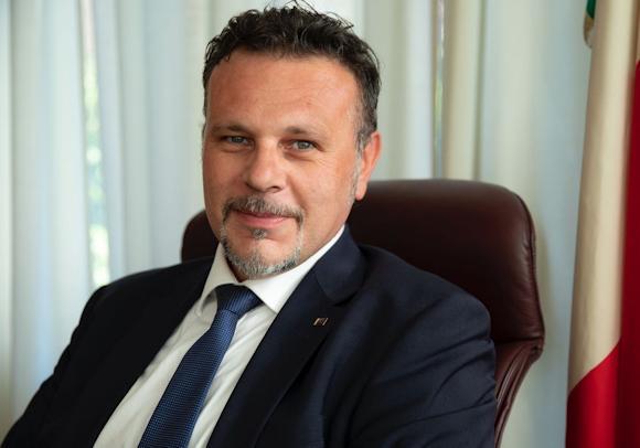 Il  Presidente della Commissione Difesa della Camera, Gianluca Rizzo.  Cyber Area a Mineo