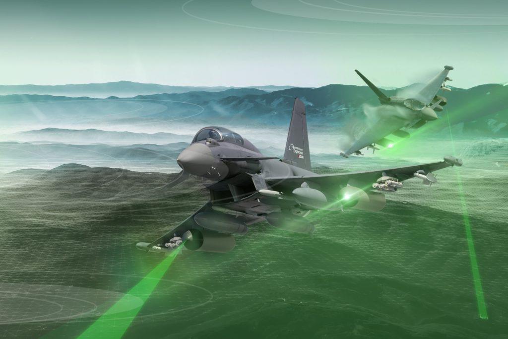 Eurofighter ECR. (Immagine Airbus)