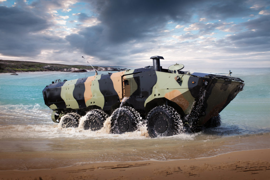 Immagine Iveco Defence Vehicles.  IDV ACV Marines