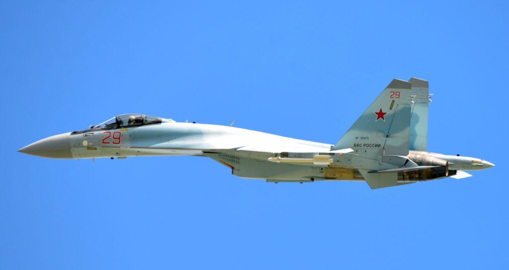 Sukhoi Su-35. Foto: Vladimir Karnozov  Turchia F-35 Su-35