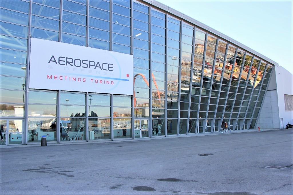 L'Oval Lingotto di Torino, sede degli Aerospace & Defense Meetings.