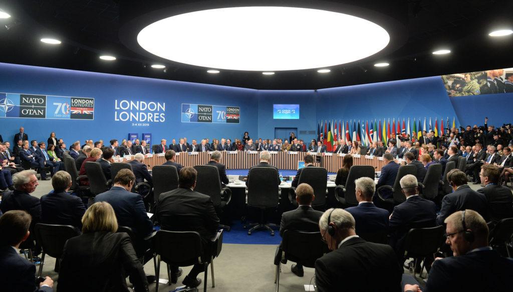 Una fase del summit NATO svoltosi il 3 e il 4 dicembre a Londra. (Fonte: NATO)