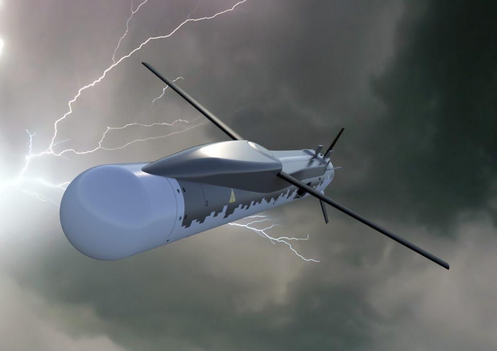Rappresentazione grafica dello SPEAR EW. (MBDA)   Sviluppo SPEAR EW Eurofighter