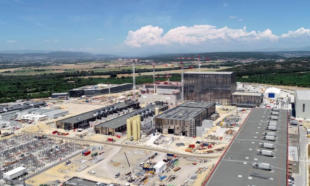 Il sito di Cadarache, nel sud della Francia, dove avrà sede l'International Thermonuclear Experimental Reactor. (ITER Organization)