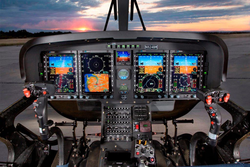 Il nuovo cockpit digitale di Genesys Aerosystems presenta lo stesso tipo di informazioni per istruttore e pilota e con piena capacità IFR