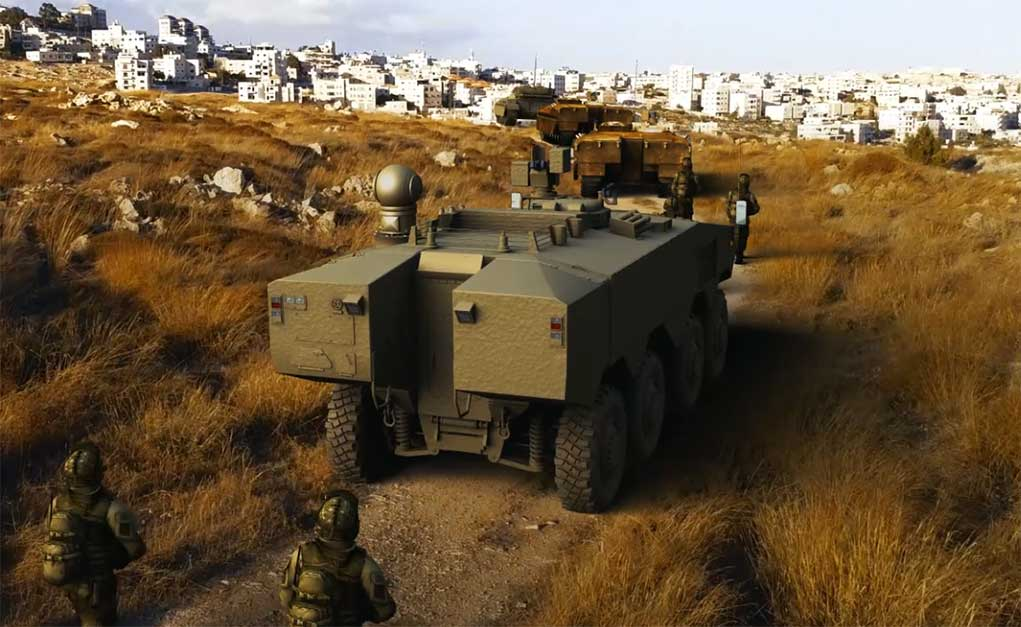 (Israel's Ministry of Defence)    Israele nuova tecnologia laser