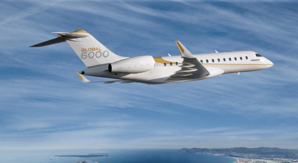 Il Global 6000 di Bombardier. (Bombardier)  Germania rinuncia al Triton