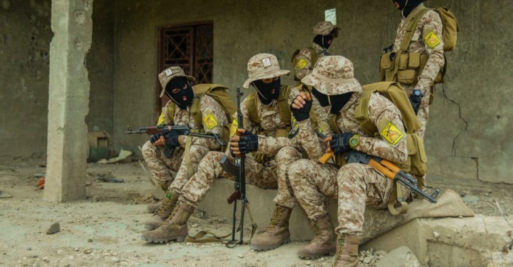 Miliziani filo-iraniani di Kata'ib Hezbollah in Iraq