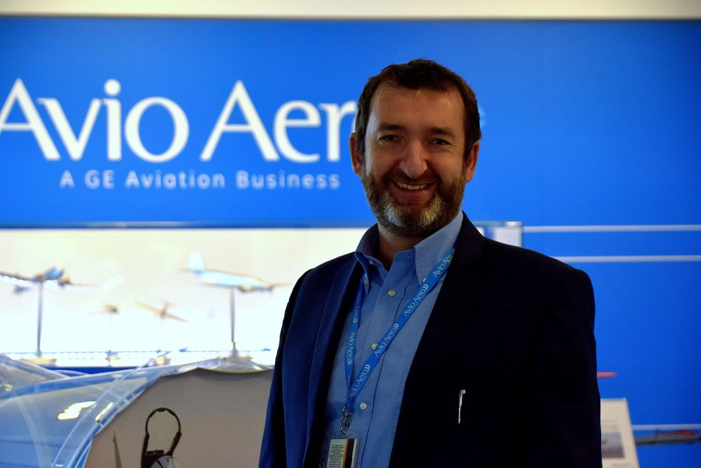 Paolo Salvetti, Sales Director Military Catalyst di Avio Aero. (Avio Aero)  GE Catalyst