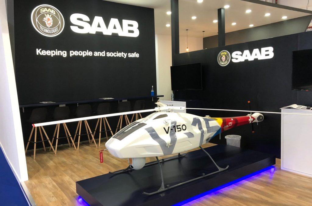 Il V-150 è stato presentato nel corso di UMEX 2020, il salone dedicato ai sistemi senza pilota organizzato ad Abu Dhabi dal 23 al 25 febbraio. (UMS Skeldar)