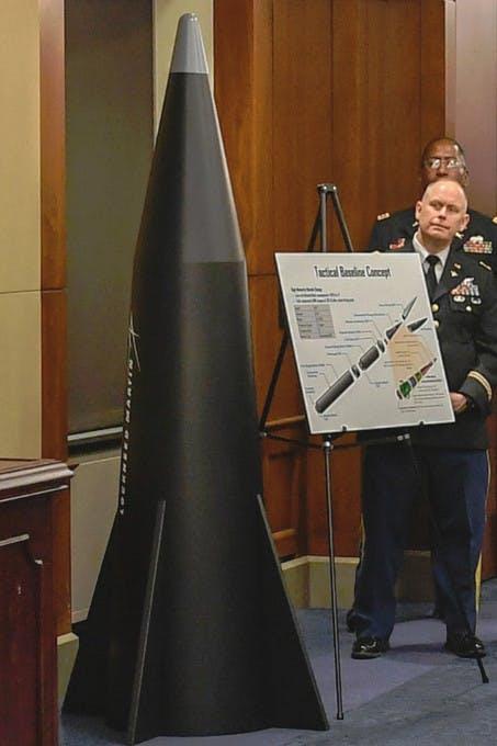 Un modello del Common-Hypersonic Glide Body. (US Army)