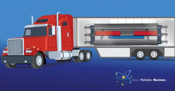 Mobile microreactor (US Department of Energy)