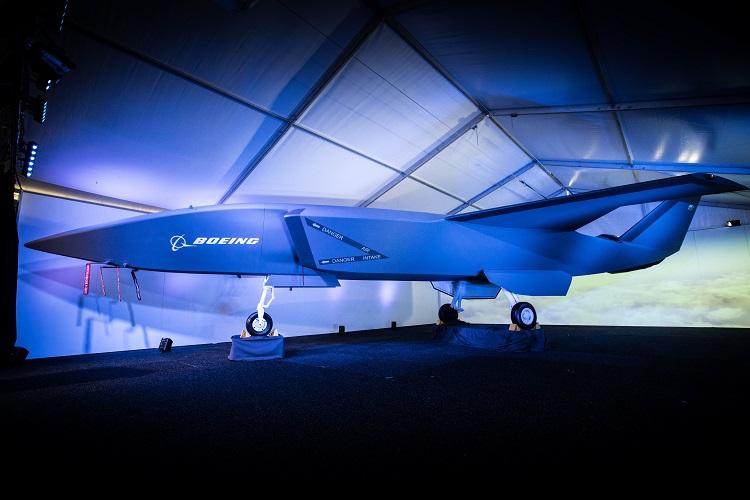 Un modello del Boeing ATS è stato presentato il 27 febbraio 2019 durante l'Australian International Airshow. (Boeing Australia)