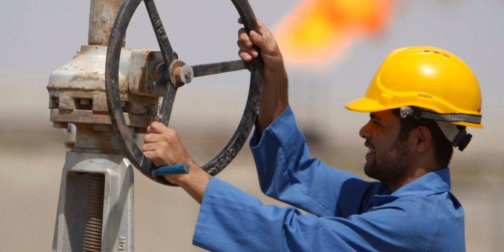 Chiusura dei pozzi petroliferi. (National oil corporation website)