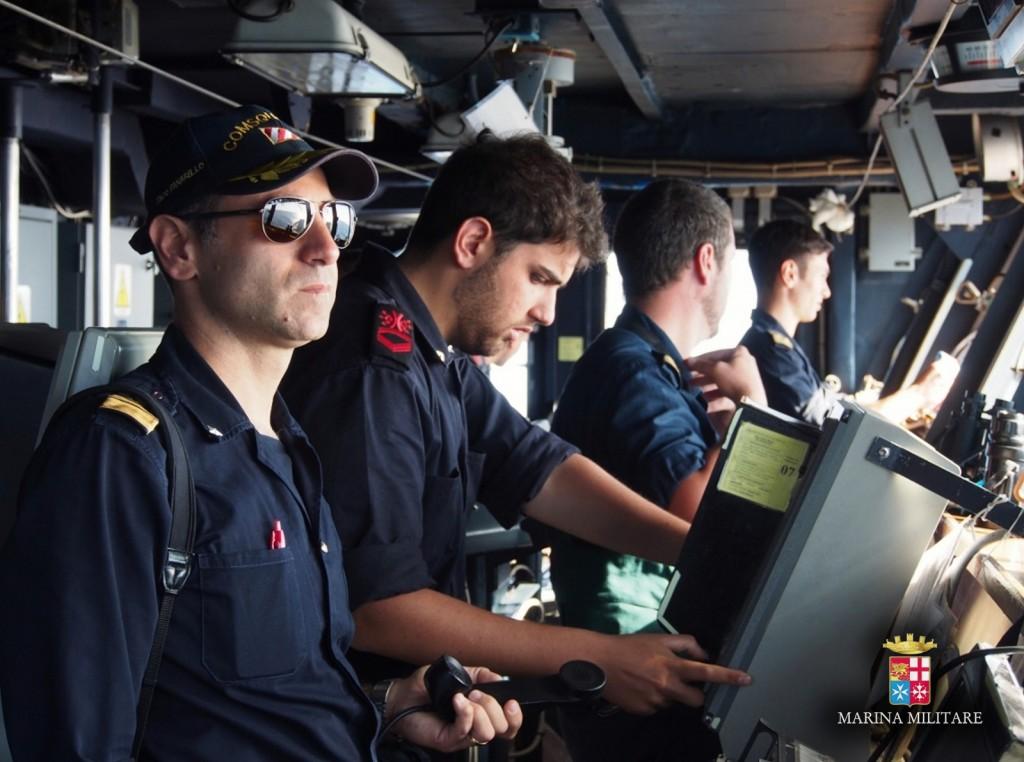 (Foto: Marina Militare)   Stress lavoro-correlato Forze Armate  Stress lavoro-correlato Forze Armate