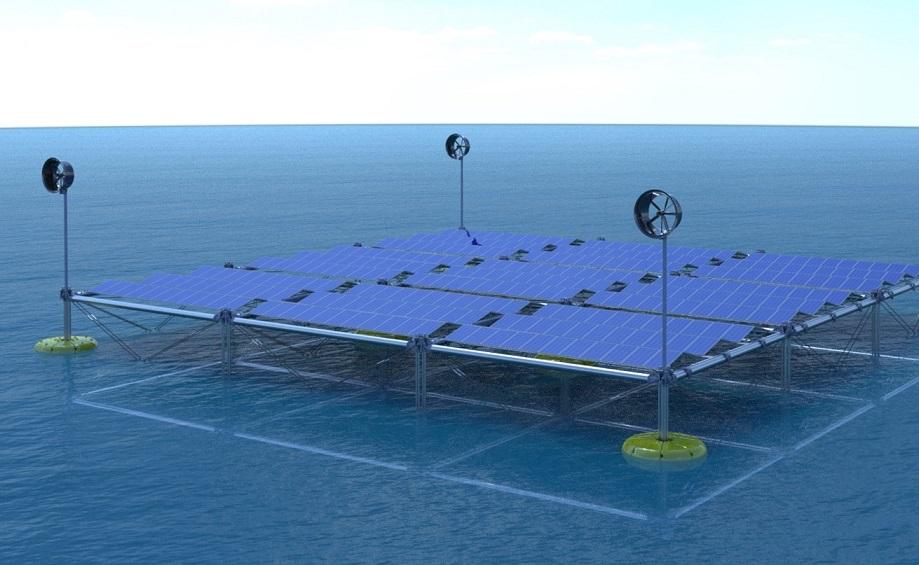 SINN Power presenta la Ocean Hybrid Platform. (Foto da: SINN Power)  SINN Power piattaforma ibrida  SINN Power piattaforma ibrida
