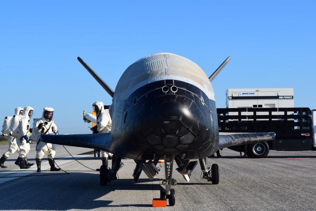 L'U.S. Air Force's X-37B Orbital Test Vehicle (Immagine da U.S. Air Force)