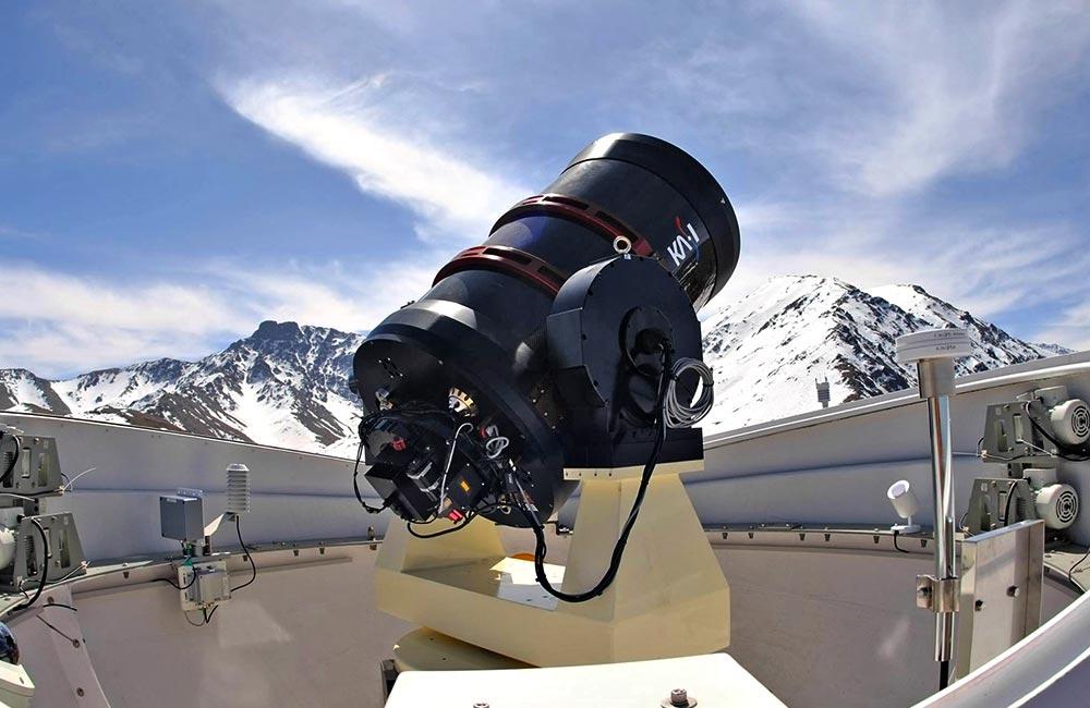 Uno strumento opto-meccanico di Officina Stellare. (Foto da: Officina Stellare)