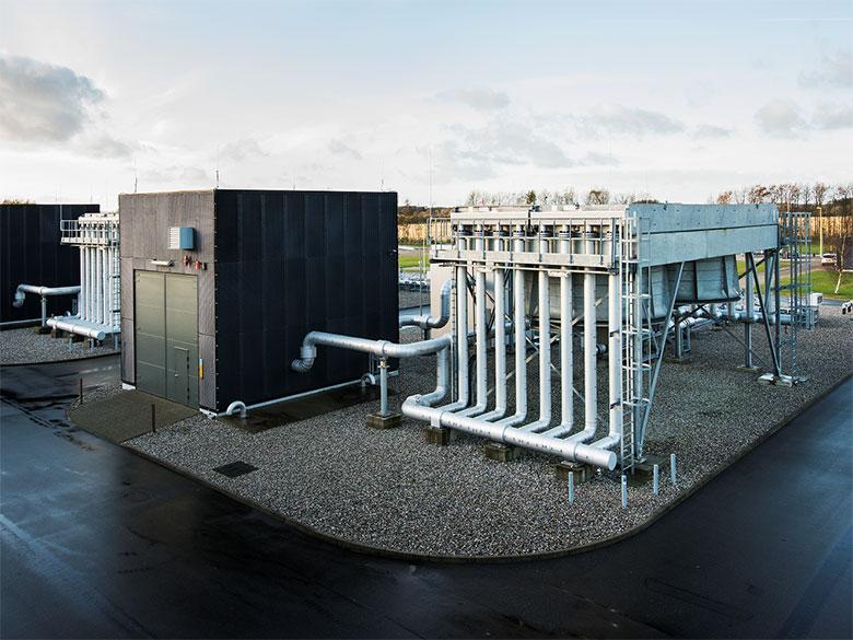 Una stazione di compressione nella regione di Zelanda in Danimarca. (Foto da: Baltic Pipe website)   Saipem contratto