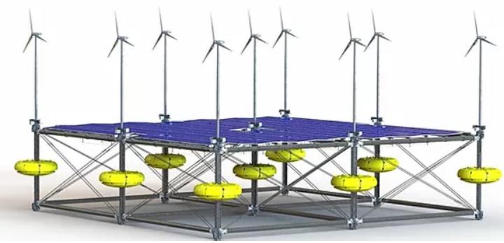 SINN Power presenta la Ocean Hybrid Platform. (Immagine da: SINN Power)