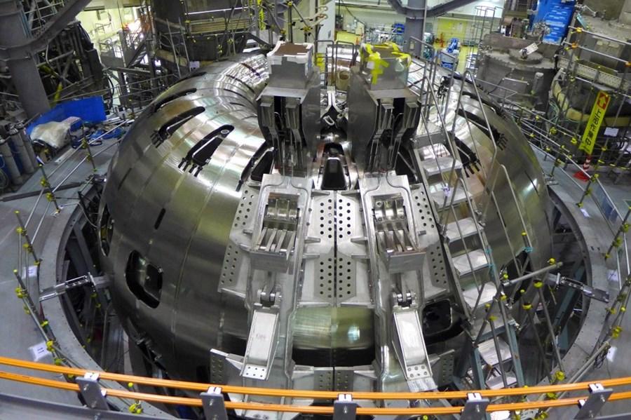 Il reattore nucleare Tokamak. (Foto da: ITER)