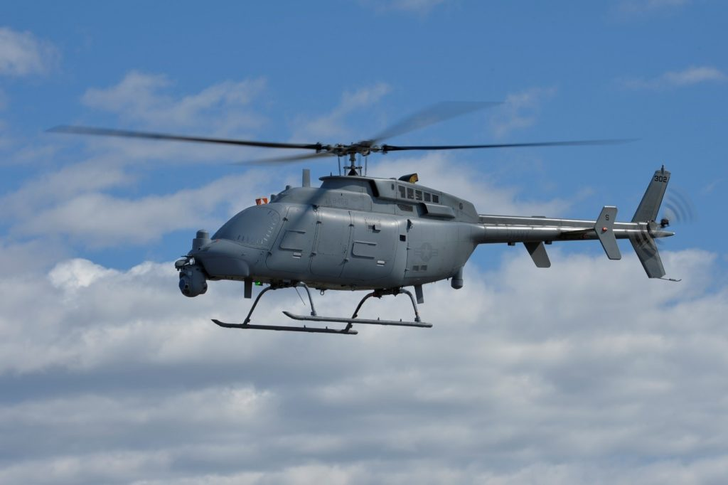 Northrop Grumman MQ-8C Fire Scout. (US Navy)