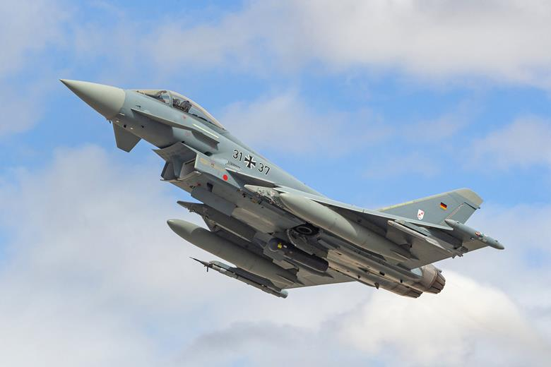 Eurofighter dell'Aeronautica tedesca. (Luftwaffe)  Captor-E tedeschi spagnoli  Captor-E tedeschi spagnoli