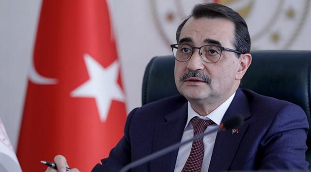 Il ministro dell'energia turco Fatih Dönmez. (Foto da: TRT Haber)