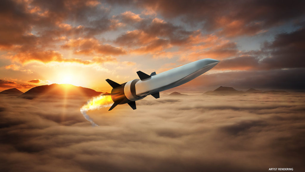 Concetto di missile ipersonico di Northrop Grumman.  sviluppo armi ipersoniche  sviluppo armi ipersoniche  sviluppo armi ipersoniche