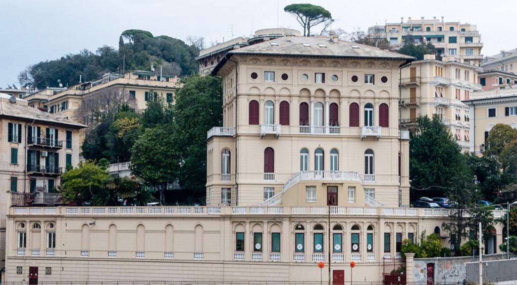 La sede di Firedesktop a Genova.