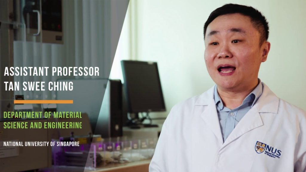 Il Professor Tan Swee Ching della NUS Materials Science and Engineering, leader del team di ricerca.
