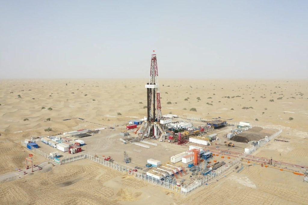 Un impianto di Sinopec. (Foto da: account Facebook di Sinopec)   Cina 5G petrolio