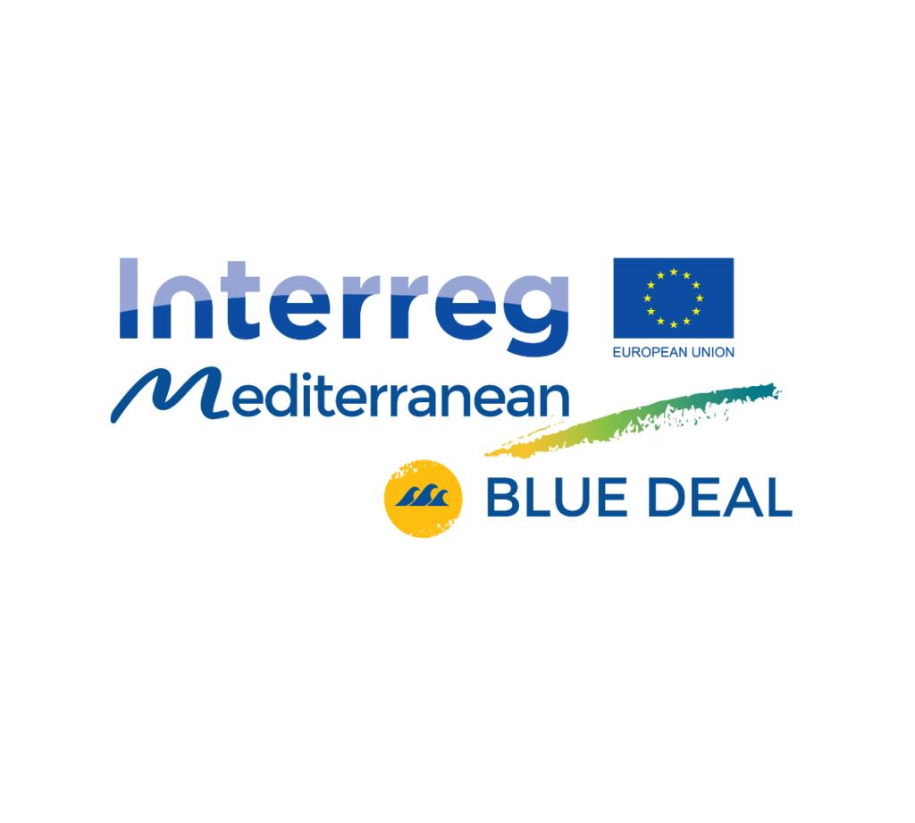 Il logo del progetto New Deal. (Immagine da: Interreg-MED website)