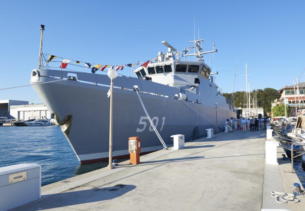 Cacciamine Intermarine El-Kasseh 1 Algeria