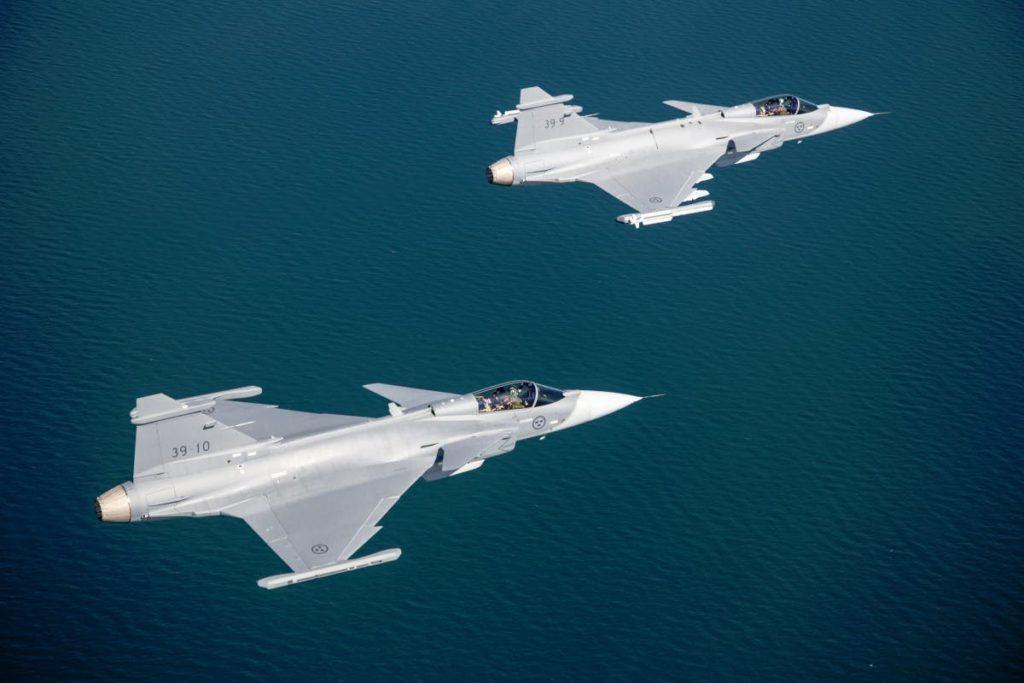 Con il Gripen E, Saab offre al Canada un grado elevato di cooperazione industriale grazie alla partnership con tre aziende locali. (Saab)   Royal Canadian Air Force