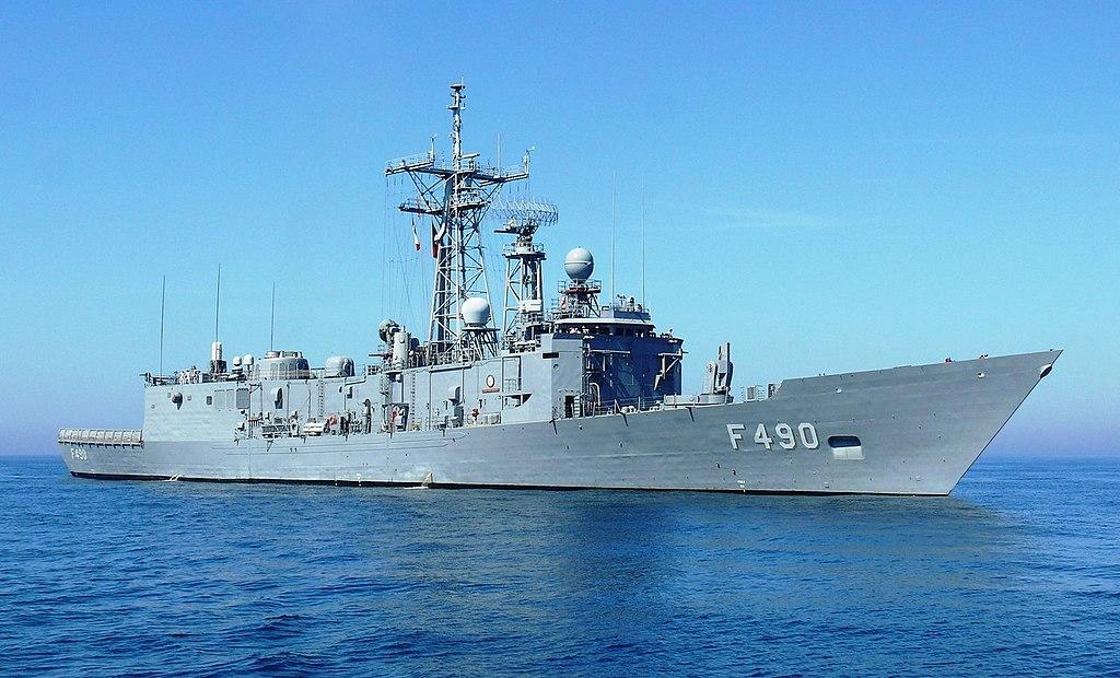 La fregata turca TCG Gaziantep. L'accordo firmato il 17 agosto prevede anche la concessione del porto di Misurata come base per le navi militari di Ankara.  Libia cooperazione militare  Libia cooperazione militare   Libia cooperazione militare   Libia cooperazione militare