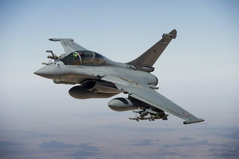 L'aereo da combattimento Rafale. (Foto da Armée de l'air francese)