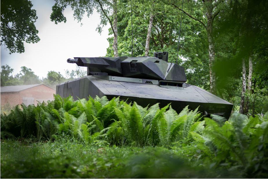 Il veicolo da combattimento per la fanteria (IFV) Lynx, sviluppato e prodotto dalla tedesca Rheinmetall. (Foto da Rheinmetall)