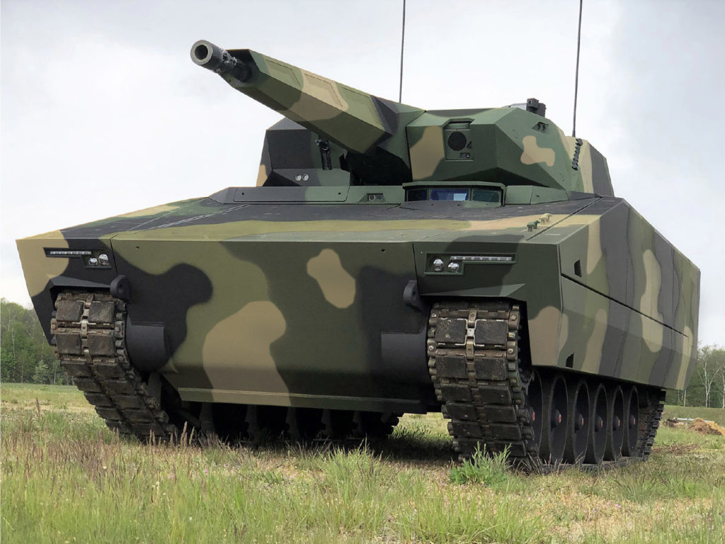 Il veicolo da combattimento per la fanteria (IFV) Lynx, sviluppato e prodotto dalla tedesca Rheinmetall. (Foto da Rheinmetall)   Ungheria 218 Lynx  Ungheria 218 Lynx   Ungheria 218 Lynx