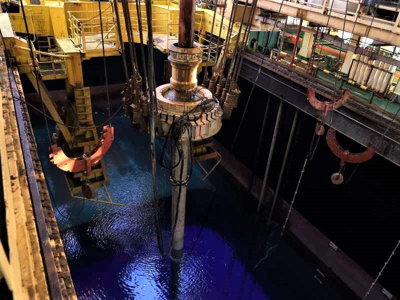 """ENI ha annunciato una nuova scoperta a gas nell'area denominata """"Great Nooros Area"""". (Foto da ENI)   ENI scoperta gas Mediterraneo"""