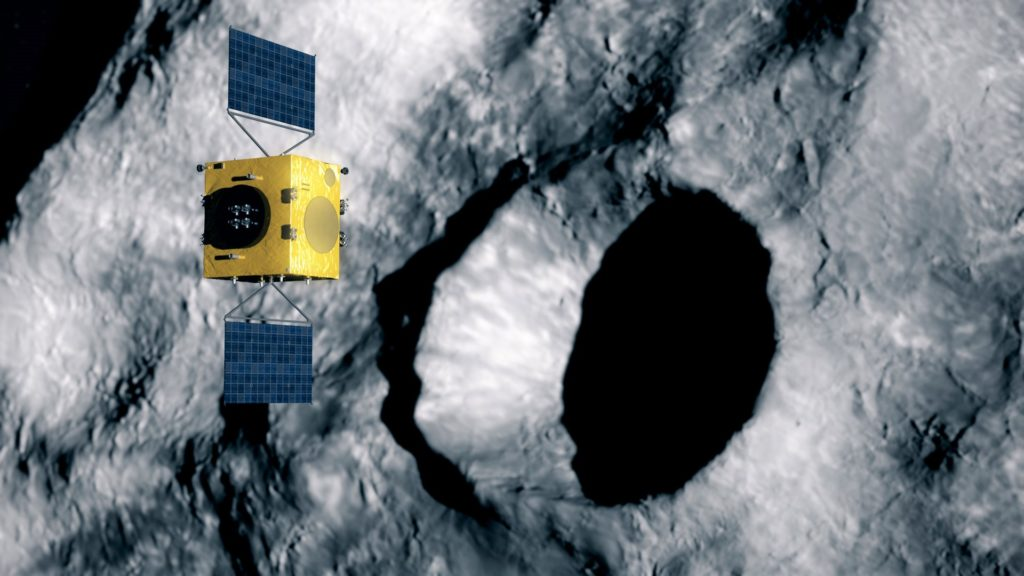 (Fonte: Thales Alenia Space)  Thales Leonardo veicolo spaziale Thales Leonardo veicolo spaziale