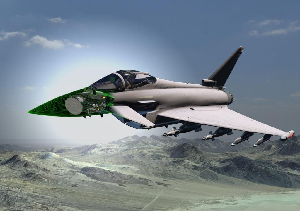 Fonte: Leonardo. Leonardo AESA Typhoon