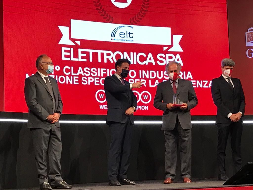 Elettronica Welfare Champion 2020