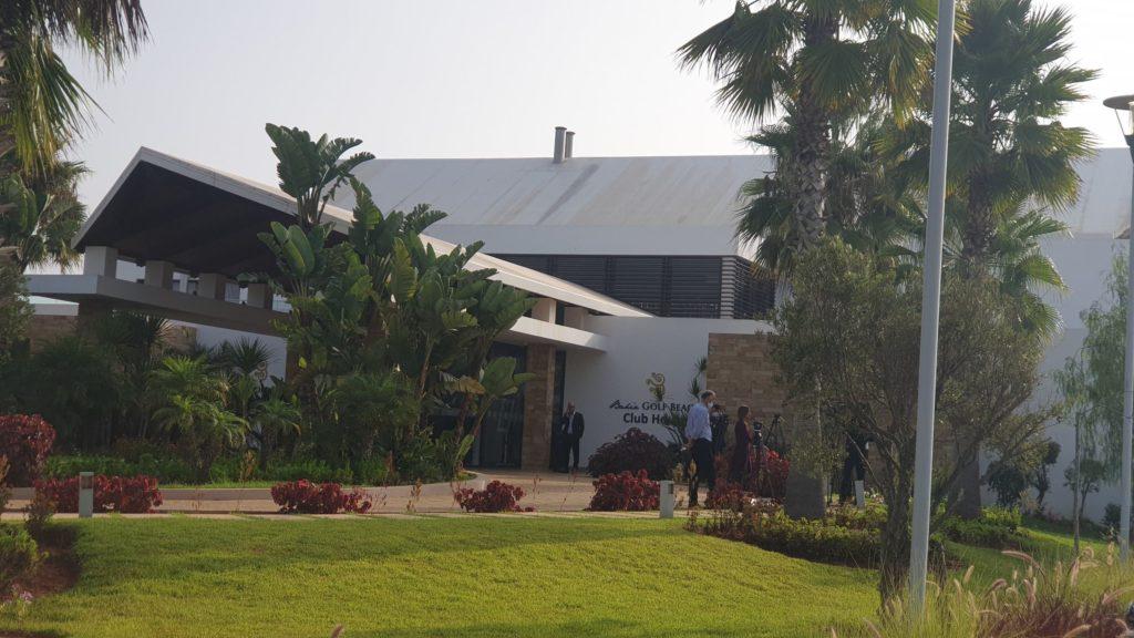 La sede dei colloqui inter-libici a Bouznika, in Marocco