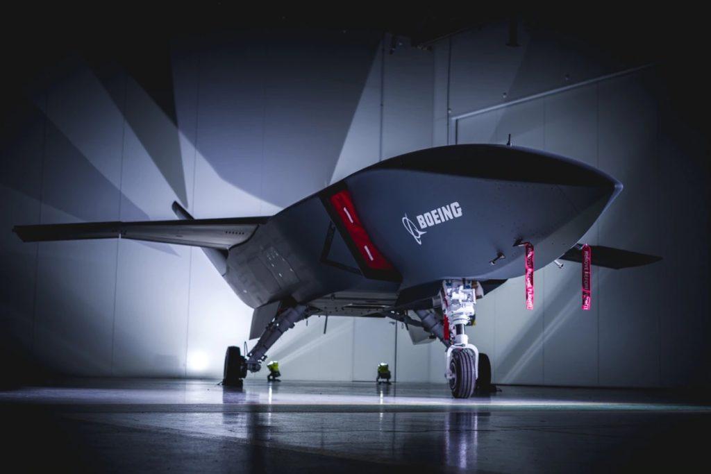 Il 5 maggio 2020, Boeing ha presentato il primo Airpower Teaming System (ATS) per la Royal Australian Air Force, un potenziale concorrente anche per il programma Skyborg Vanguard dell'US Air Force. (Boeing)