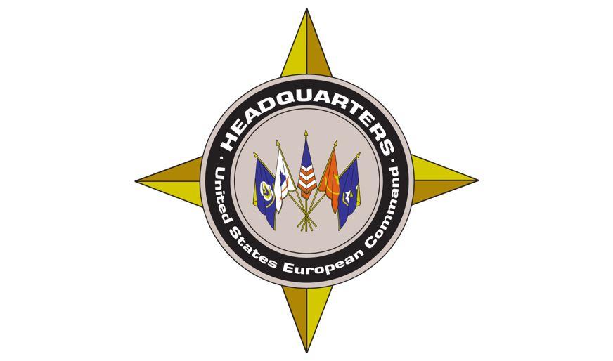 Logo di United States European Command. (Immagine da EUCOM)  postura militare  postura militare  postura militare  postura militare