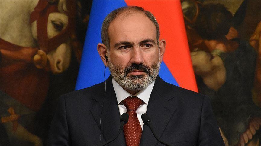 Il primo ministro armeno Nikol Pashinyan. (Foto da Anadolu Agency)