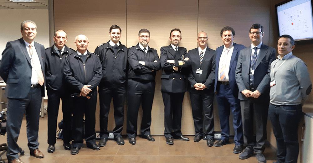 La Marina Militare Italiana ha visitato, il 15 marzo 2019, l'OCEAN2020 Development LAB, con sede nello stabilimento Leonardo di via Tiburtina. (Foto da OCEAN2020)
