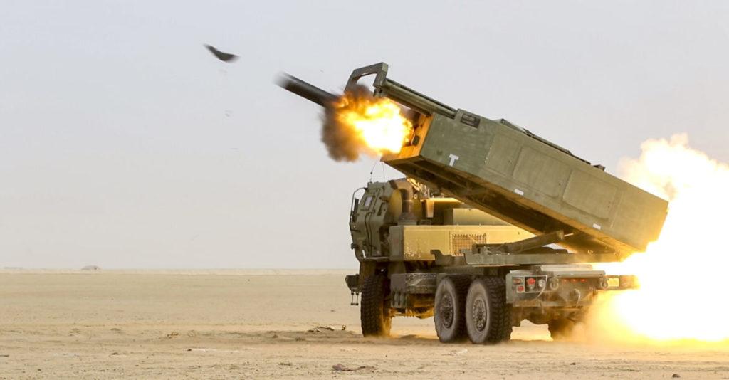 High Mobility Artillery Rocket System (HIMARS).