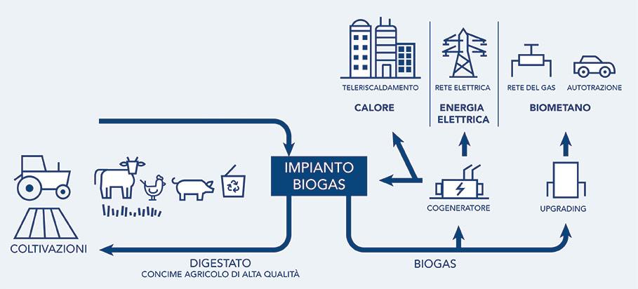 Le tre aziende potranno realizzare congiuntamente, lungo l'intera catena del valore, progetti integrati in settori chiave per la transizione energetica come la filiera dell'idrogeno, dell'economia circolare (tra cui l'utilizzo di biometano) e la mobilità sostenibile. (Immagine da Snam)